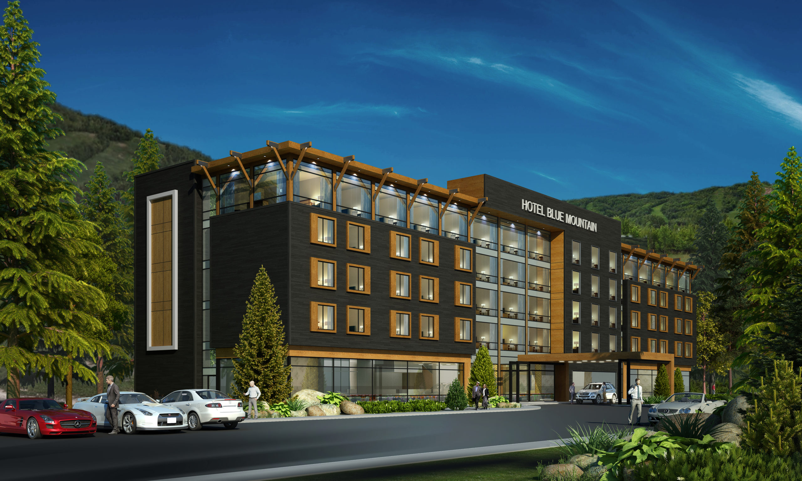 Blue Mountain Hotel and Condo Development