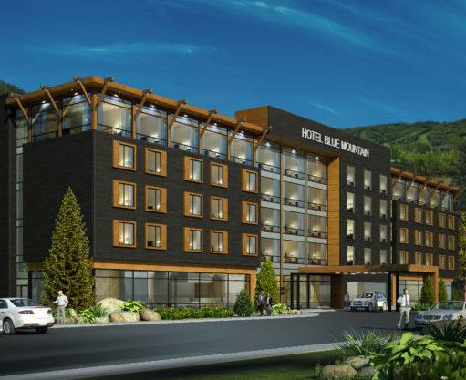 Blue mountain Hotel and Condo Development