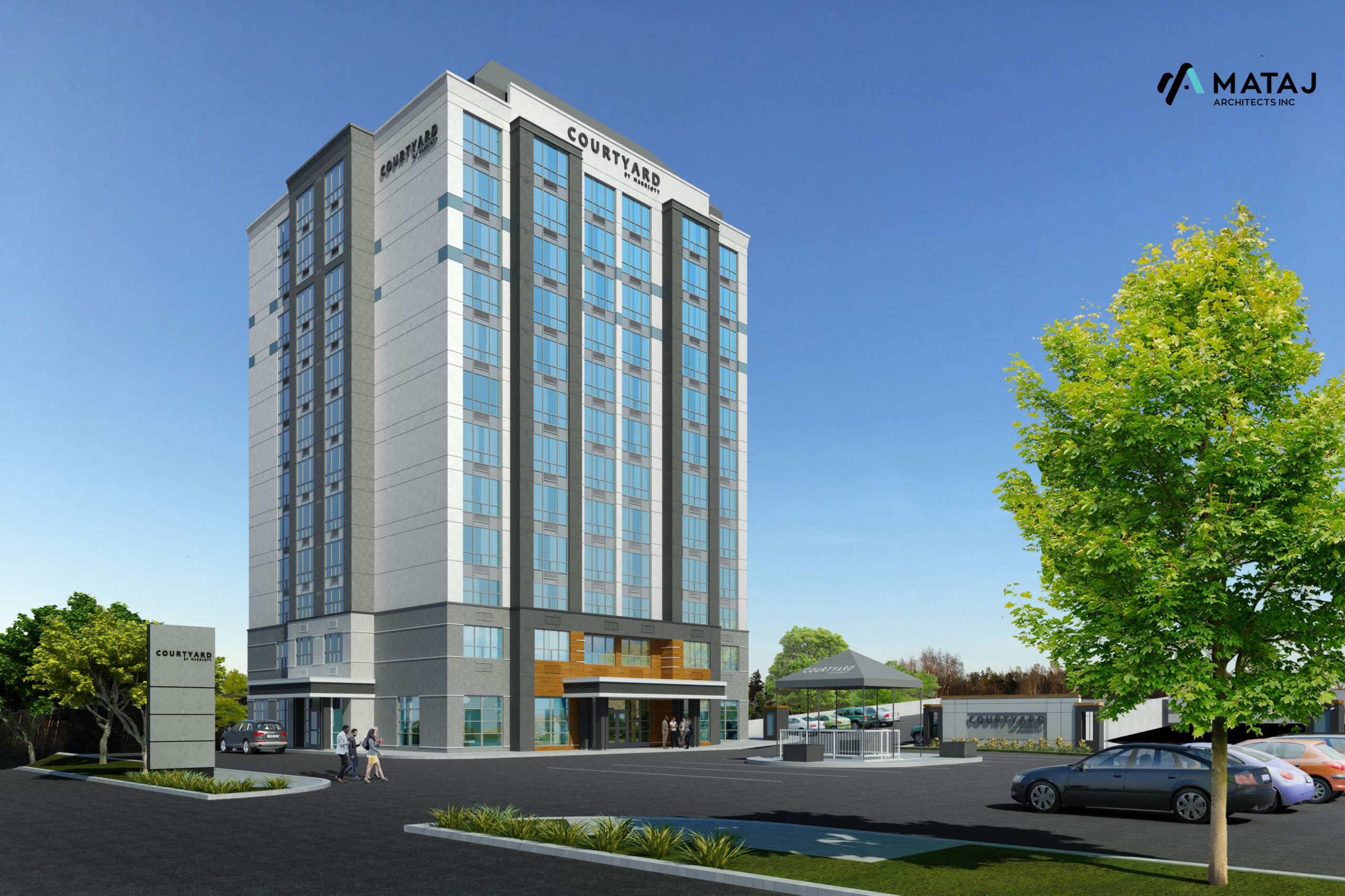 Kitchener Courtyard by Marriott conversion